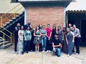 Foto dos participantes do último encontro de 2017